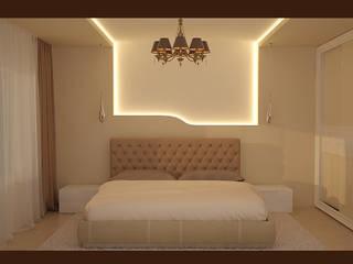 "Спальня ""Изгиб"" Спальня в стиле модерн от freeDOM Модерн"