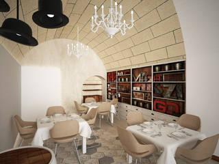 CERAMARA: Gastronomia in stile  di B+P architetti