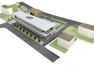 Nuovo Centro Stella Bianca:  in stile  di mauroFACCHINIarchitects