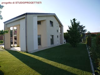 Modern Evler StudioProgettisti - Nevio Maero Modern