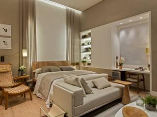 Quarto de Hóspedes - Campinas Decor Quartos modernos por Maira Del Nero Arquitetura e Interiores Moderno