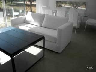Salas de estilo moderno de VETA & DISEÑO Moderno
