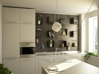 Modern kitchen by CT home Modern