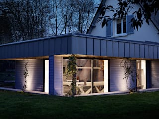O2 Concept Architecture Modern home Wood Blue