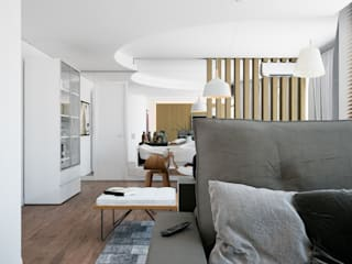 Quattro+ Arquitetura Вітальня