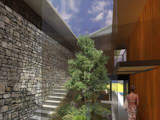 Corridor & hallway by RIMA Arquitectura, Modern