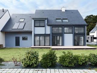 O2 Concept Architecture Passive house Metal Blue