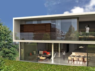 Houses by RIMA Arquitectura, Modern