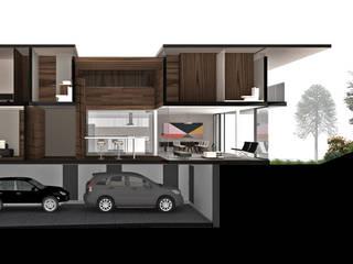Garajes de estilo moderno de RIMA Arquitectura Moderno