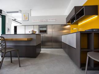 Vibo Cucine sas di Olivero Bruno e c. Moderne Küchen Grau