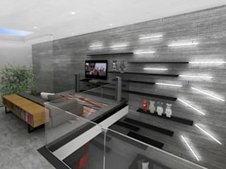 Pasillos, vestíbulos y escaleras modernos de RIMA Arquitectura Moderno