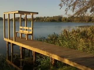 Projecto de Reordenamento, Requalificação e Valorização da Barrinha e Lagoa de Mira e Lago do Mar: Jardins  por EPCA