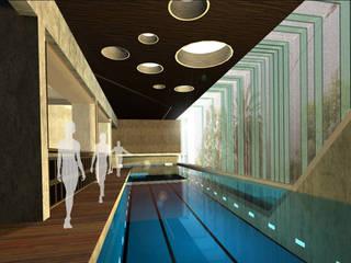 Piscinas de estilo moderno de RIMA Arquitectura Moderno