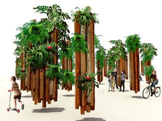 Spas de estilo moderno de RIMA Arquitectura Moderno