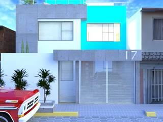 Oro - 17 Casas modernas de Ingenieros y Arquitectos Continentes Moderno