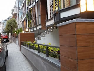 AVCILAR / İSTANBUL / KENTSEL DÖNÜŞÜM KAPSAMINDA 18 DAİRELİK KONUT PROJESİ CANSEL BOZKURT interior architect Modern Evler Ahşap-Plastik Kompozit Ahşap rengi