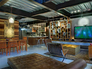 Livings de estilo moderno de RIMA Arquitectura Moderno