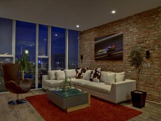 Memo Rojas - RIMA Arquitectura Livings modernos: Ideas, imágenes y decoración de RIMA Arquitectura Moderno