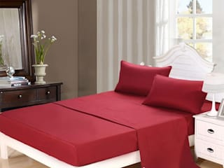 High Thread Count Bed Sheets: asian  by FurnishTurf,Asian
