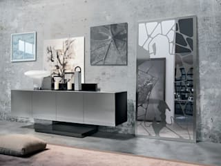 BandIt Design Living roomCupboards & sideboards Iron/Steel Metallic/Silver