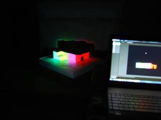 Projeção Vídeo Mapping como ferramenta de exposição de arquitetura:   por GVelhinho