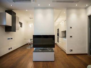 Il soggiorno: Soggiorno in stile in stile Moderno di Archihouse
