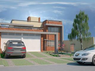 Vivienda Unifamiliar: Casas de estilo moderno por Arq. Lucas Martín Lang