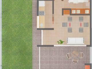 Complejo de Departamentos: Casas de estilo moderno por Arq. Lucas Martín Lang