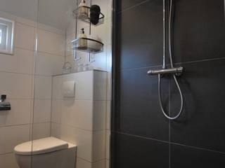 AGZ badkamers en sanitair حمام دوش وأحواض إستحمام بلاط Brown