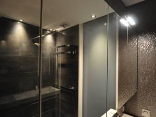 AGZ badkamers en sanitair ห้องน้ำกระจก กระจกและแก้ว Transparent