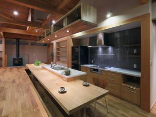 那須高久の家: ATELIER Nが手掛けたキッチンです。