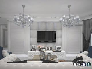 Classic style living room by Дизайн-студия Анны Игнатьевой Classic