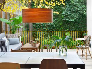 Vivienda bajos Madrazo Salas de jantar modernas por MIRIAM CASTELLS STUDIO Moderno