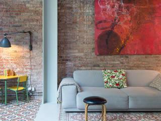 Vivienda bajos Madrazo Salas de estar modernas por MIRIAM CASTELLS STUDIO Moderno
