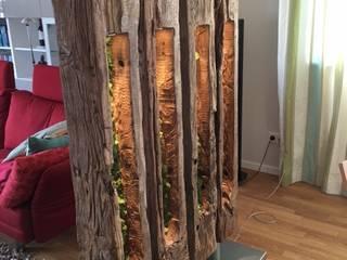 """Raumteiler """"Wood"""" von blonddesign Mediterran"""