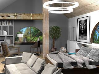 Modern style bedroom by Pracownia Wnętrz Modern