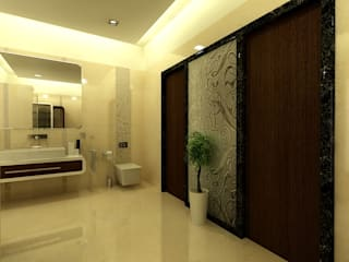 Asian style bathroom by Shadab Anwari & Associates. Asian