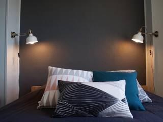 Appartement Paris 13ème: Chambre de style de style Moderne par CONTRAST DECO