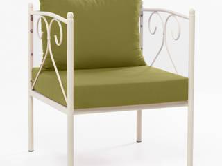 Sunshine Yazlık Daybed Yeşil Yapraklı K105 Mobilya Pazarlama Danışmanlık San.İç ve Dış Tic.LTD.ŞTİ. BahçeMobilyalar Demir/Çelik Yeşil