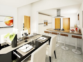 Kitchen, The Heart Of The Home... by Alive Visualisation