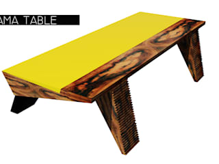 Saama Table:   por ARQAMA - Arquitetura e Design Lda
