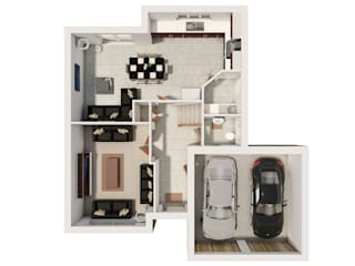 Architectural 3D Floor Plans... by Alive Visualisation