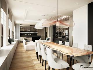 Apartament w Wilanowie Klasyczna jadalnia od Bartek Włodarczyk Architekt Klasyczny
