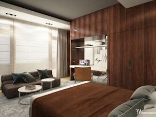 Apartament w Kołobrzegu Klasyczna sypialnia od Bartek Włodarczyk Architekt Klasyczny