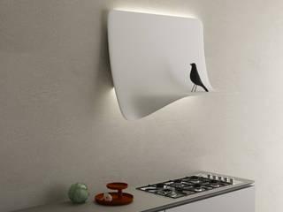 Sipario, il progetto di Ellen Bernhardt: Cucina in stile in stile Minimalista di CRISTALPLANT