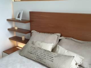 Departamento Modulus / Dormitorio Principal : Dormitorios de estilo minimalista por MODULUS