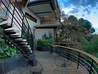 Balcones y terrazas modernos de RIMA Arquitectura Moderno