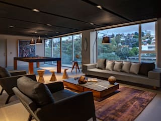 Modern media room by RIMA Arquitectura Modern