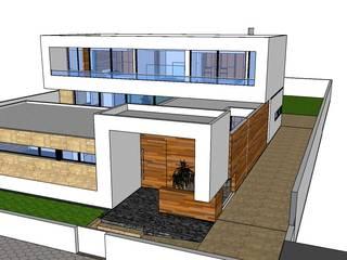 Modern Duvar & Zemin ribau margaça _ arquitetura Modern
