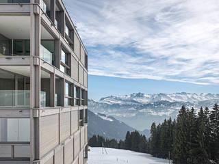 Rigi Kaltbad Bellevue Moderne Häuser von alp - architektur lischer partner ag Modern